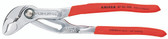 Knipex 8703250 Cobra Degrees High-Tech Water Pump Pliers Chrome Plated With Non-Slip Plastic 10 In