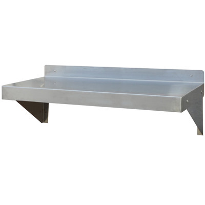 Amerihome SSWSHELF36 36 in Stainless Steel Wall Shelf