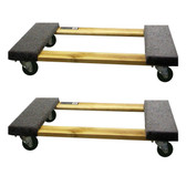 Buffalo Tools HDFDOLLY2 2 Piece 1000 Lb Furniture Dolly Set