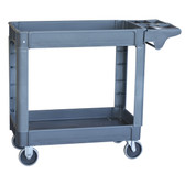 Pro-Series SCART550 Two-Shelf Heavy Duty Utility Cart, 550 Lbs. Capacity