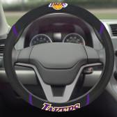 FANMAT 14795 NBA Los Angeles Lakers Steering Wheel Cover