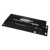 Audiopipe ISMVA8 Pipeman'S Installation Solution 8 Channel Video Amplifier