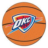 FANMAT 10195 NBA Oklahoma City Thunder Basketball Rug