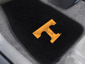 FANMAT 10714 University Of Tennessee 2-Pc Embroidered Car Mat Set