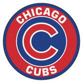 FANMAT 18130 MLB Chicago Cubs Roundel Mat