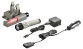 Streamlight 74358 Strion C4 LED Rechargeable Flashlight w/Piggyback, Chrome