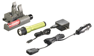 Streamlight 74359 Strion C4 LED Rechargeable Flashlight w/Piggyback, Lime