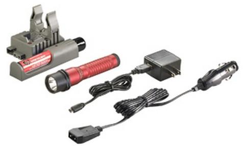 Streamlight 74787 Strion HL C4 LED Rechargable Flashlight 120/DC Piggyback Charger, Red