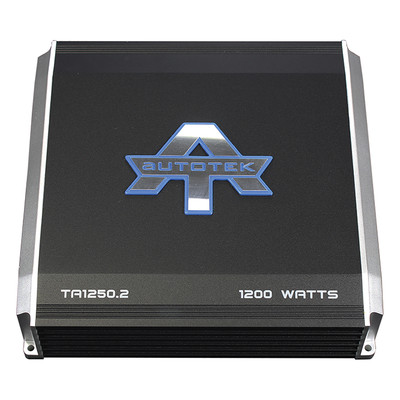 Autotek TA12502 TA Series 1200 Watt, 2 Channel Amplifier