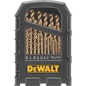 Dewalt DW1269 29-Piece Cobalt Pilot-Point Drill Bit Index Set