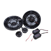"Crunch CS65C 6.5"" 2-Way Component Speaker 300W Max"