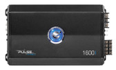 Planet Audio PL16004 Planet Pulse Series 4 Channel Amplifier 1600W Max