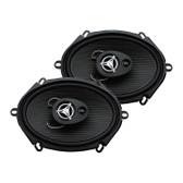 "Power Acoustik EF573 Reaper 5X7"" 3 Way 500 Watts"