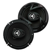"Power Acoustik EF653 Reaper 6.5"" 3 Way 400 Watts"