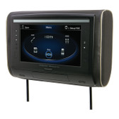"Power Acoustik HDVD-94 9"" Headrest DVD 3 Color Skins"