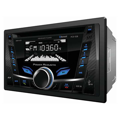 Power Acoustik PCS-52B AM/FM/Cd/USB/Bt