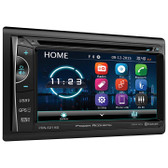 "Power Acoustik PD-624HB 6.2"" D.Din AM/FM/Cd/DVD/USB/Bt Navigation"