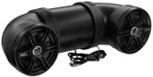 "SoundStorm BTB8 Boomtube For ATV 8"" Marine Speakers 700W Bluetooth Aux Input"