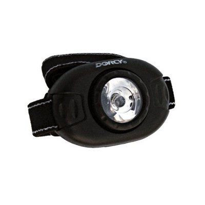 Dorcy 41-2089 Dual-Purpose Adjustable LED Headlight Flashlight, 25-Lumens, Assorted Colors
