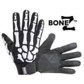 SAS Safety 1764154 Raised TPR Skeleton Bone Medium Impact Gloves