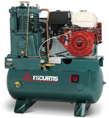 FS-Curtis CA13-H 13 HP Gas Honda 30 Gallon Horizontal Air Compressor