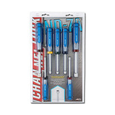 Channellock ND-7A Professional SAE Hollow Shaft Nut Driver Set, 7-Pieces