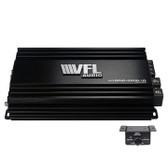American Bass VFLHYBRID28001D Hybrid Amplifier Linkable D Class 2800 Watts Max