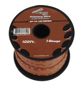 Audiopipe AP14100BR 14 Gauge 100Ft Brown Primary Wire