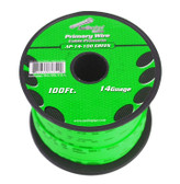 Audiopipe AP14100GR 14 Gauge 100Ft Primary Wire Green
