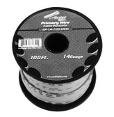 Audiopipe AP14100GY 14 Gauge 100Ft Gray Primary Wire