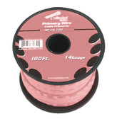 Audiopipe AP14100PK 14 Gauge 100Ft Primary Wire Pink