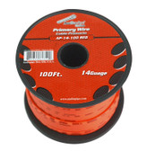Audiopipe AP14100RD 14 Gauge 100Ft Primary Wire Red