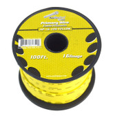 Audiopipe AP16100YW 16 Gauge 100Ft Yellow Primary Wire