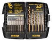 Dewalt DWA1240 Pilot Point Industrial Cobalt Drill Bit Set 14Pc.