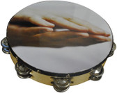 "Nippon America ATMHND10 10"" Praying Hands Tambourine"