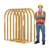 "Ken-Tool 36008 34"" x 62-3/4"" 7-Bar Tire Inflation Cage Model: T108"