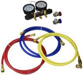 CPS Products MT717A6Q A/C Manifold Gauge Set