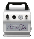 Iwata-Medea IS50 Studio Series Silver Jet Single Piston Air Compressor
