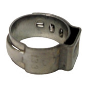 "The Main Resource HC8605-100 7/16"" Open Pinch Clamp .378"" - 7/16"" (100 per bag)"