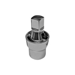 "VIM Tools UJ456 3/8"" Smooth 45 Degree U-Joint Socket Adapter 1/4"" Square Drive"