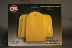 GL Enterprises 1200 Plastic Auto Body Spreaders, 1 Standard, 1 Large, 1 Giant