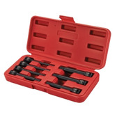 "Sunex Tools 3547 3/8"" Drive 7 Piece Extended Length SAE Impact Hex Driver Set"