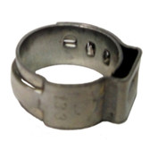 "The Main Resource HC8612-100 1/2"" Open Pinch Clamp .425"" - 1/2"" (100 Per Bag)"