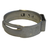 "The Main Resource HC8478-100 7/8"" Open Pinch Clamp .764"" - 7/8"" (100 Per Bag)"