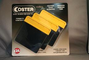 "GL Enterprises 1101 Coster Steel Auto Body Spreaders, 3 Steel Spreaders - 4"""