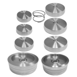"The Main Resource AS9313 Brake Lathe Truck Adapter Set, 1"" Bore, 9 Piece Set"