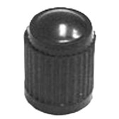 The Main Resource TI100-100 Black Plastic Tire Valve Stem Cap, Box of 100
