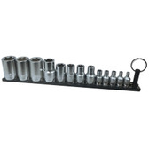 "VIM Tools TMS-ETORX 13 Piece ""E"" Inverted Torx Driver Set - Black Magrail"