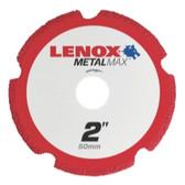 "Lenox 1972917 LENOX Metal Max Die Grinder Diamond Cutoff Wheel 2"" x 3/8"""