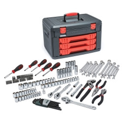 Gearwrench 80938 143 Piece Master Tool Set With Drawer Style Carry Case